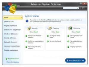 Advanced System Optimizer 3.9.3645.18056 Crack With License Key 2021